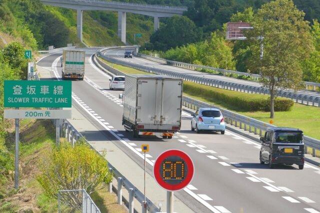軽自動車で高速道路